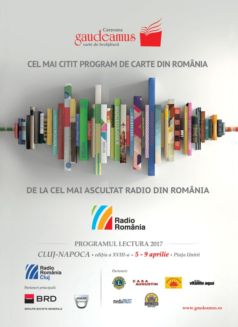 Caravana Gaudeamus 2017 Cluj