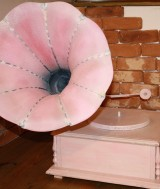 Foto Gramofon roz brand