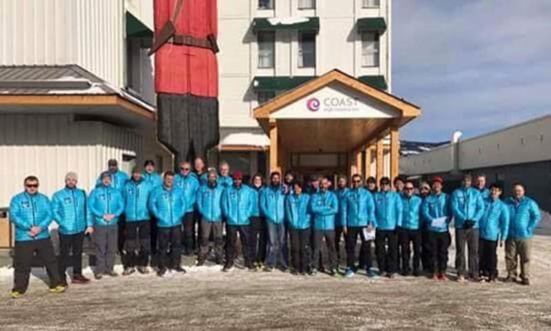 maraton Polul Nord