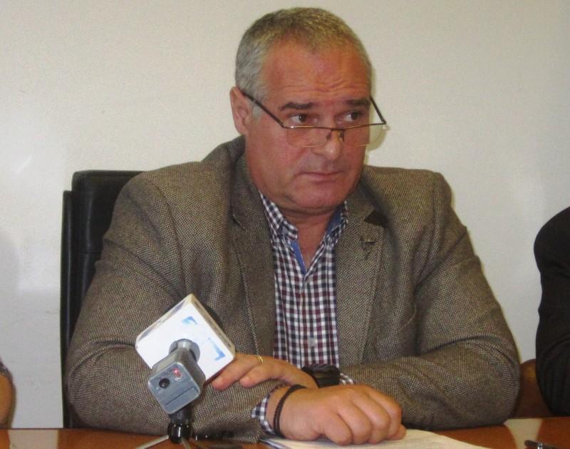 Președintele CNSLR Frăția, Călin Cociș Foto: Radio Tg.Mures/ Valeriu Russu