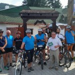 Foto: Gurul a Rádió - Caravana Bicicleta la Izvorul Muresului