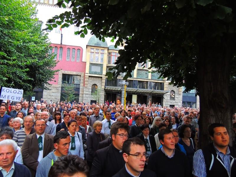protest liceu romano catolic tg mures sept 2017 2