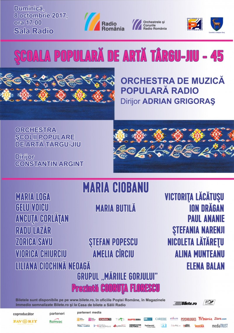 Afis Orchestra de Muzica Populara Radio