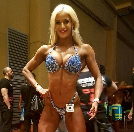 Foto: Ioana Sulea-IFBB Bikini Competitor/facebook