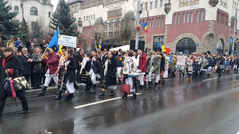 parada portului popular 1 decembrie 2017