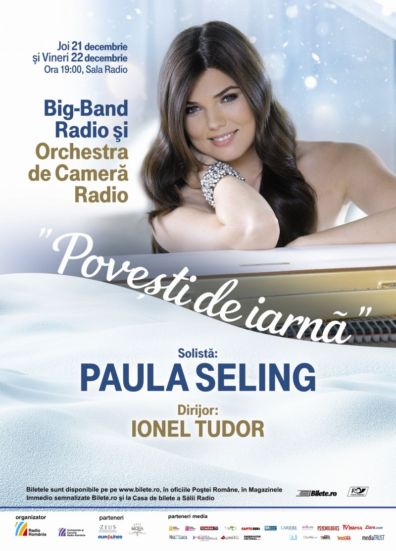 Afis concert Paula Seling