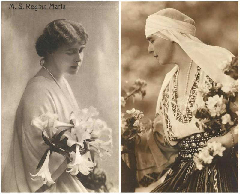 Crinul, floarea preferată a reginei Maria