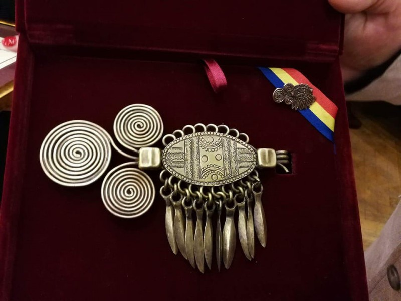 Fibula de la Suseni (Foto: Lucia Moldovan/facebook)