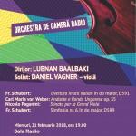 Afis concert OCR 21 februarie