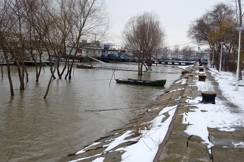 dunarea inundatii