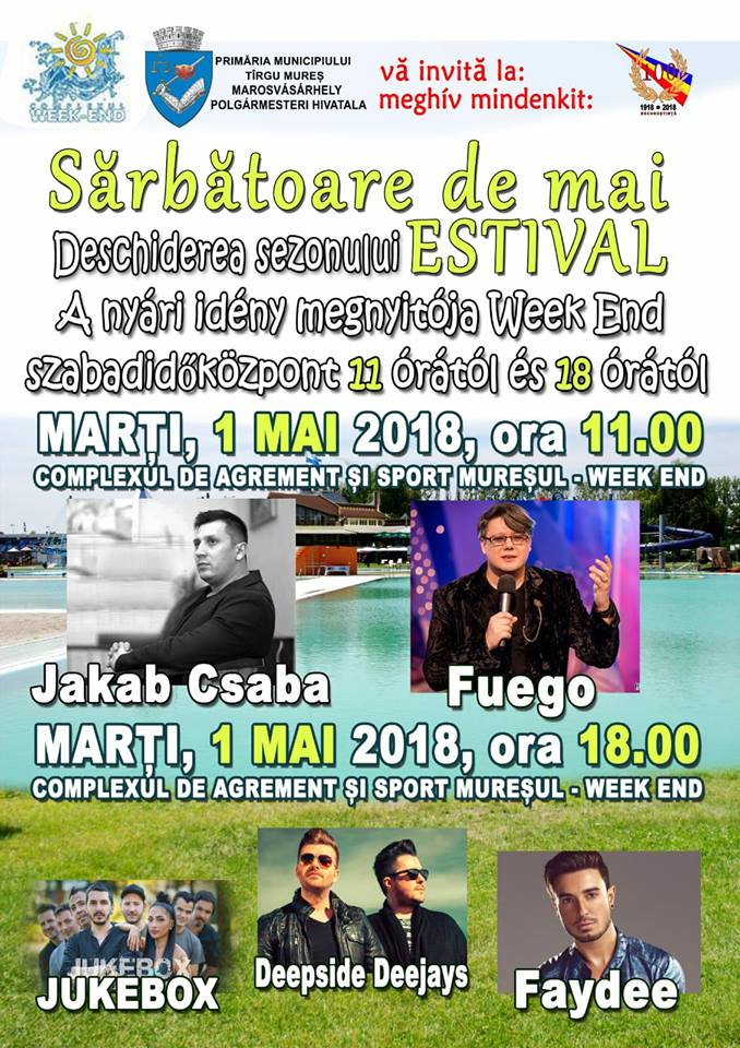 1 mai spectacol tg mures