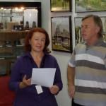 Jozef Chrena expune la Radio Timisoara