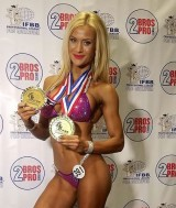 Foto: Ioana Șulea - IFBB Bikini Competitor/facebook