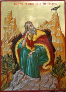 20 iulie - Sfântul Proroc Ilie Tesviteanul (theodorosart.com)