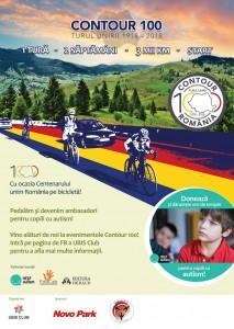 Patru ciclişti vor desena conturul României pe bicicletă autism,
