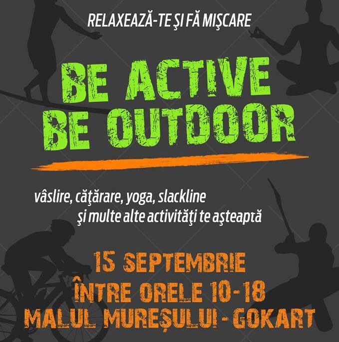 Be Active, Be Outdoor