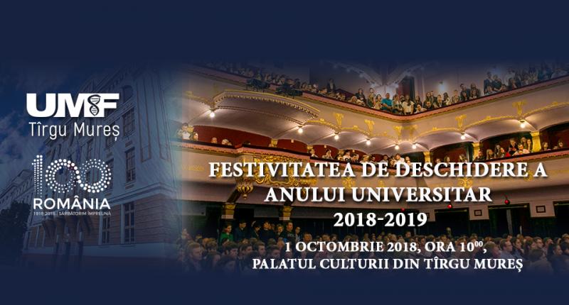 UMFST festivitate_deschidere