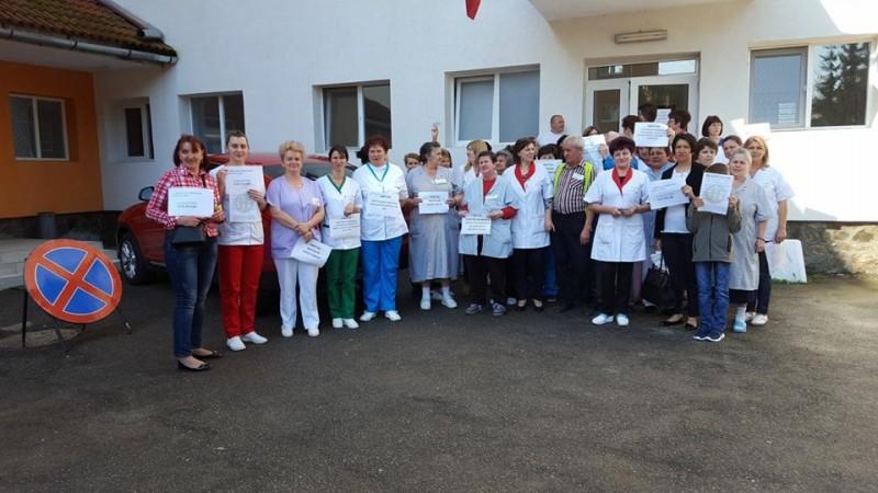 """Sursa foto: Federația """"Solidaritatea Sanitară"""" din România/facebook"""