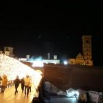Cetatea Alba Iulia noaptea