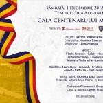 gala centenarului marii uniri