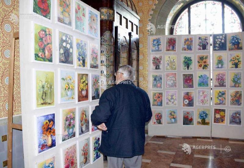tablouri flori expozitie