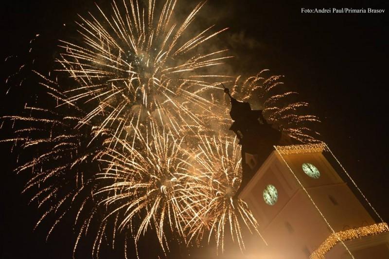 artificii de Revelion Brasov