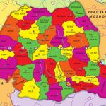 harta economica a romaniei