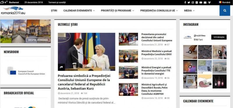 site presedintie UE