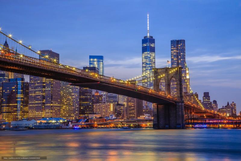 3 ianuarie 1870 - Podul Brooklyn din New York (Sursa foto: ro.gde-fon.com)
