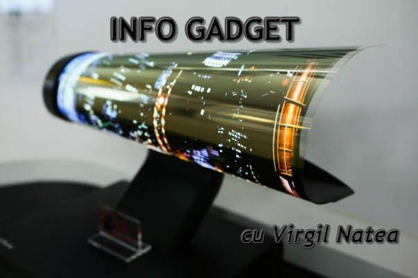 Gadget televizor pliabil