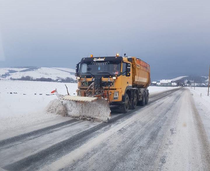 Foto: Compania Naţională de Administrare a Infrastructurii Rutiere/facebook