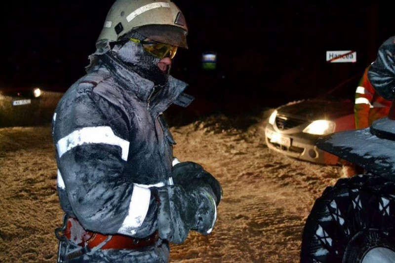 pompieri autoturisme deblocate zapada
