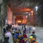 Sursa foto: Parajdi Sóbánya - Salina Praid - Salt mine Praid