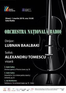 Afis 1 martie Al Tomescu