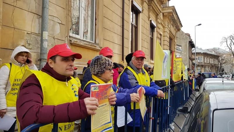 "Sursa foto: Federatia Sindicatelor din Educație ""Spiru Haret"""