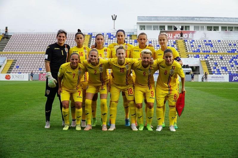 Foto-Nationala Romaniei de Fotbal Feminin/facebook