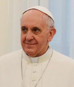 13 martie 2013- Papa Francisc-urcarea pe scaunul pontifical (Sursa foto: ro.wikipedia.org.jpg)