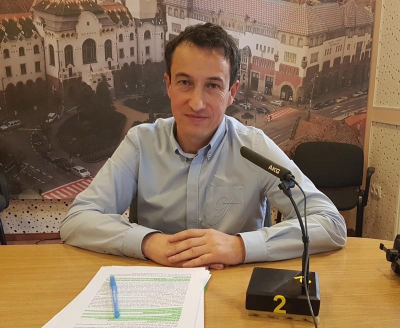 Directorul APIA Mureș, Ovidiu Săvâșcă Foto: Radio Tg.Mures/Emanuela Barabas