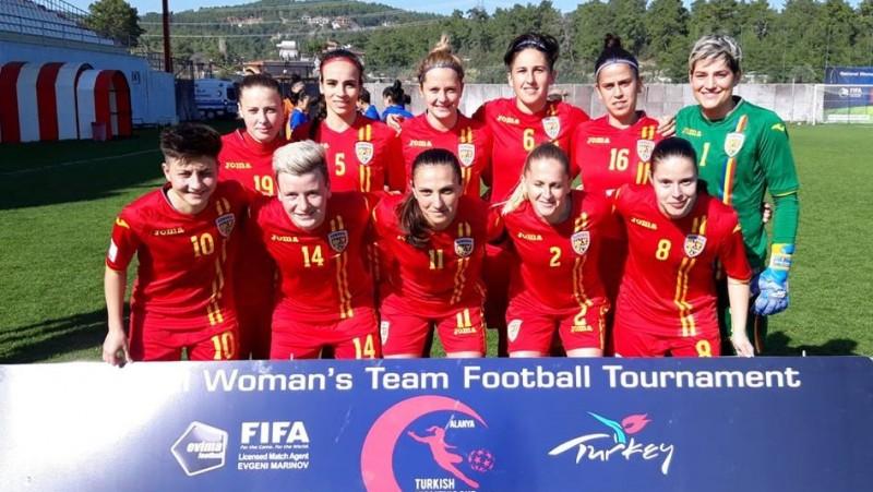 Foto: Nationala Romaniei de Fotbal Feminin/facebook