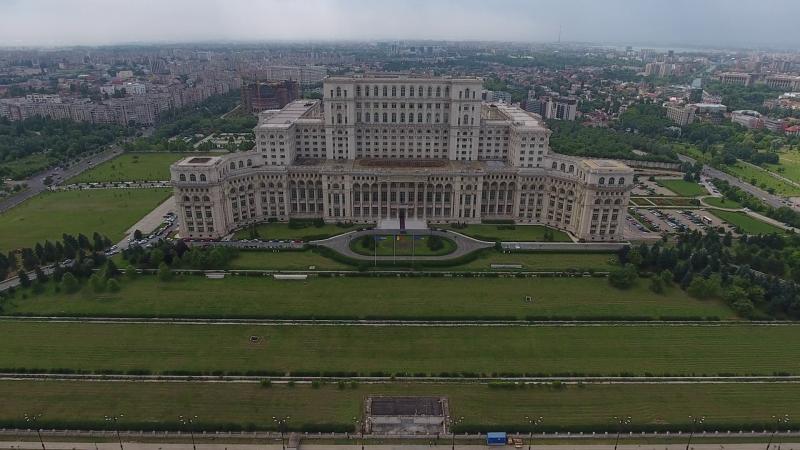 Palatul Parlamentului din Bucureşti  Sursa foto: videoblocks.com
