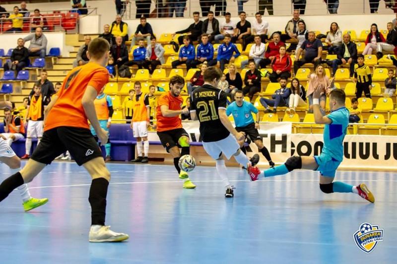 Dunărea Călărași - Informatica Timișoara (Sursa foto: facebook.com - Futsal Club Dunărea Călărași)