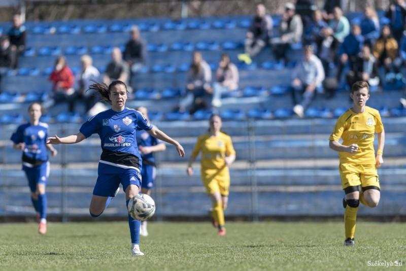 Vasas Femina Odorhei, fotbal feminin (Foto: Veres Nándor - szekelyhon.ro, by facebook.com - Vasas Femina FC Székelyudvarhely)
