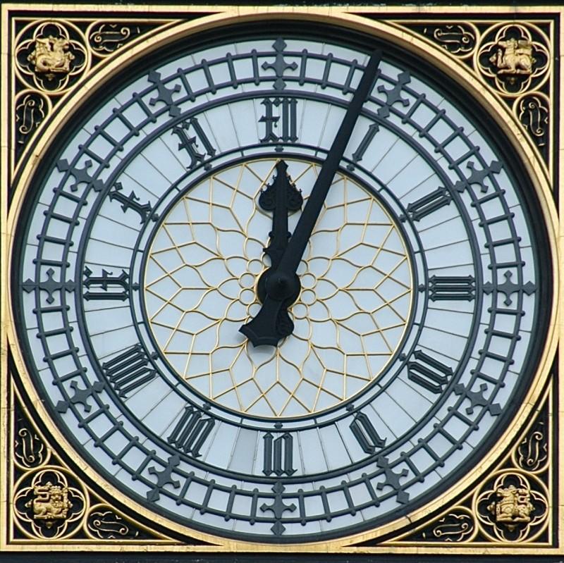 Orologiul Parlamentului din Londra, poreclit ulterior Big Ben, a fost pornit pentru prima oară (Sursa foto: ro.wikipedia.org)