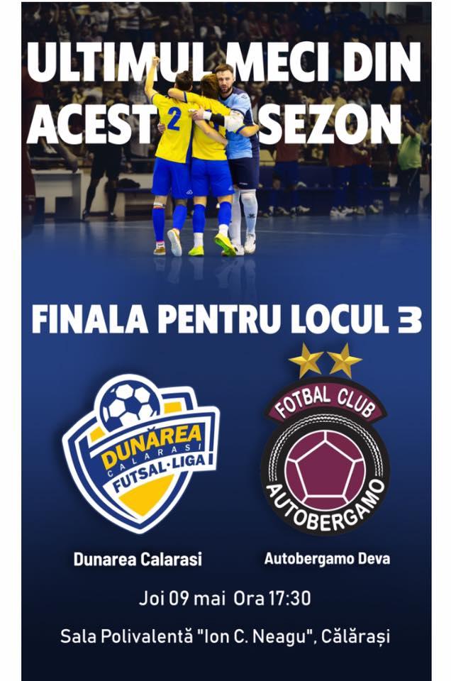 Sursa foto: facebook.com/Futsal-Club-Dunărea-Călărași