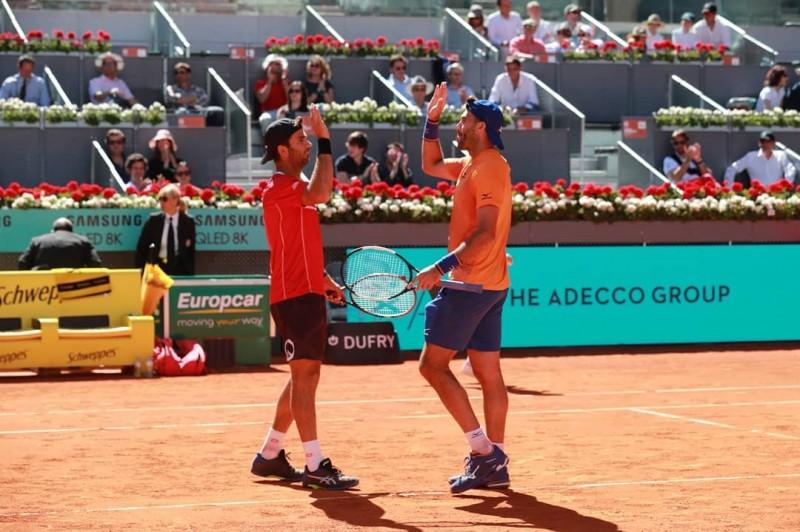 Horia Tecău & Jean-Julien Rojer (Sursa foto: facebook.com - Horia Tecău, by Instagram)
