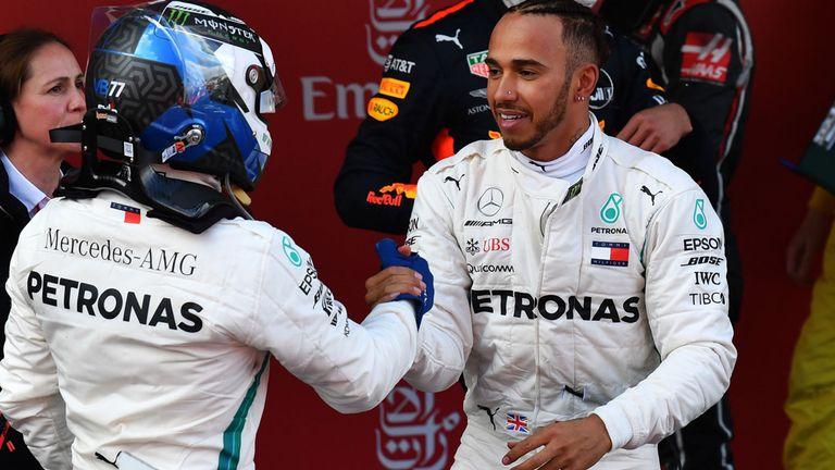 Lewis Hamilton & Valtteri Bottas, Mercedes (Sursa foto: skysports.com)