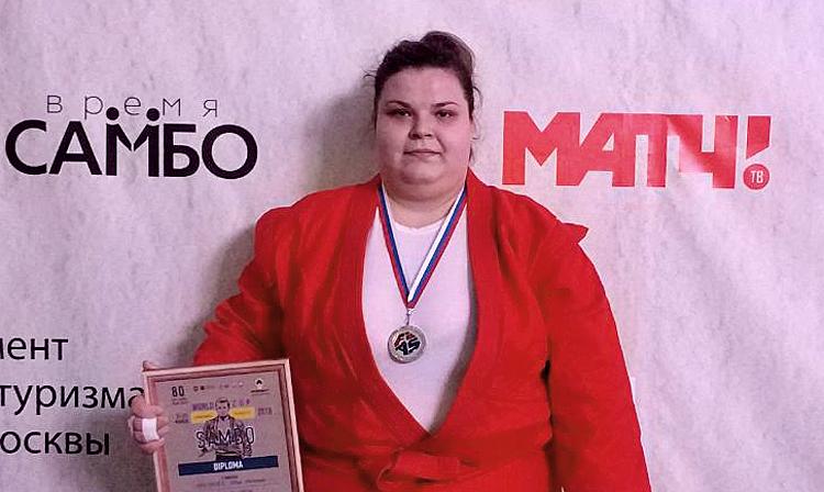 Alina-Petronela Păunescu, sambo  80 kg (Sursa foto: sambo.sport)