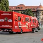 """Foto: Caravana SMURD """"Fii pregătit"""" - Centrul mobil de pregătire a populației"""