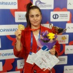 Daniela Poroineanu, sambo (Sursa foto: sambo.sport)
