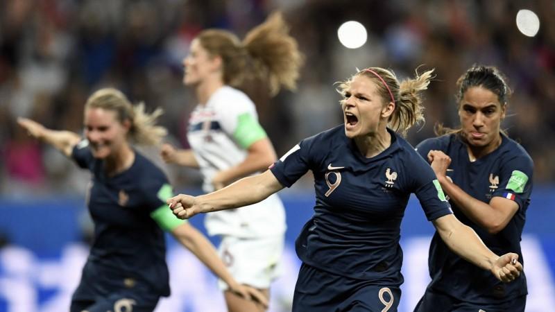 Franța - Norvegia 2-1, fotbal feminin (Sursa foto: goal.com)